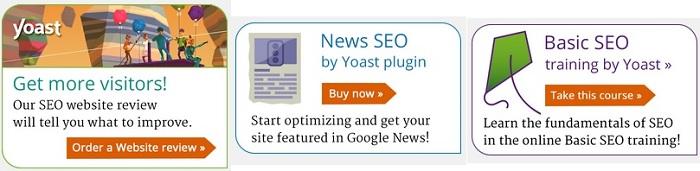 Yoast SEO plugin offers
